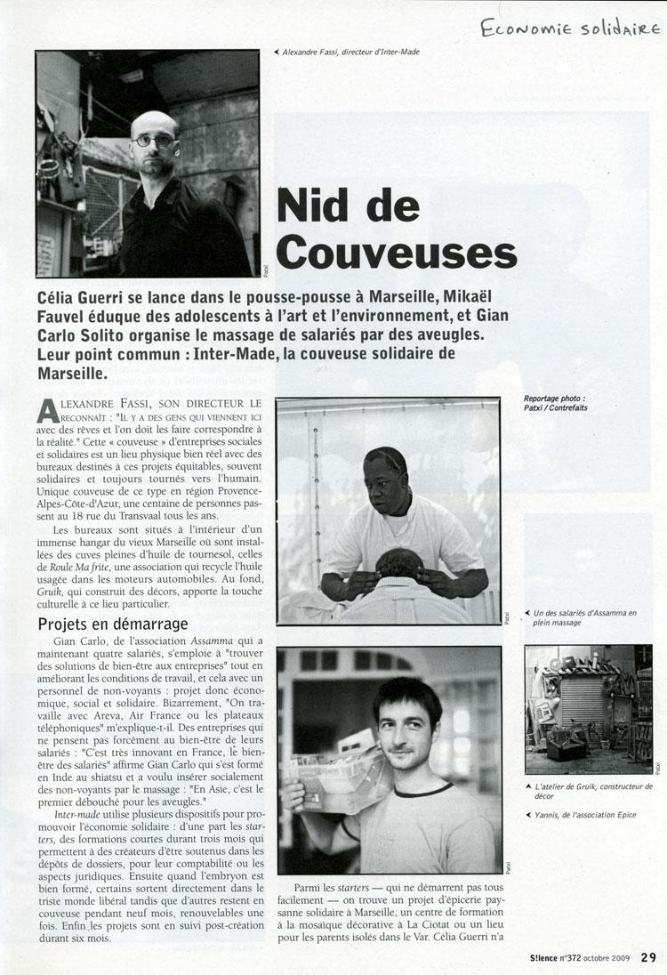 S!lence n°372 – octobre 2009