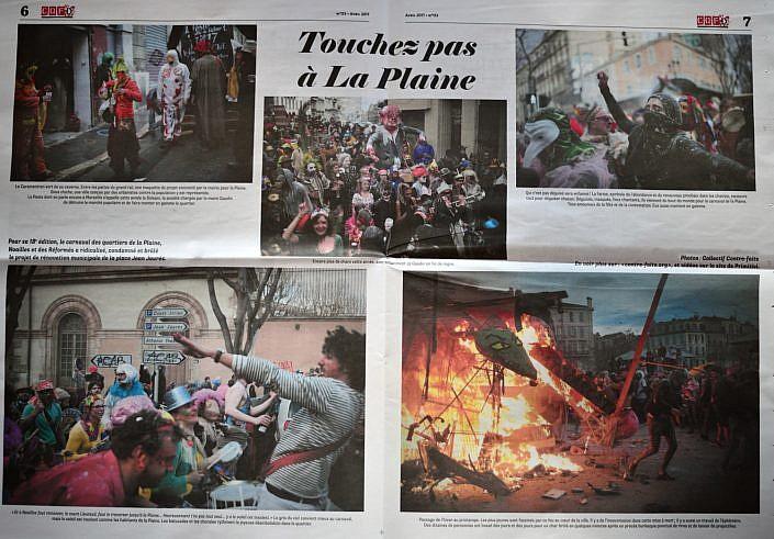 Touchez pas à La Plaine – CQFD 153 – avril 2017